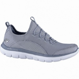 Skechers Flex Appeal 2.0 coole Damen Mesh Sneakers blue, Skechers Air-Cooled-Memory-Foam-Fußbett, 4240195/41