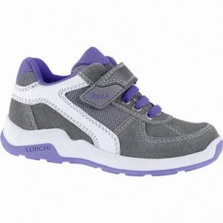 Lurchi Marc coole Jungen Leder Sneakers grey, mittlere Weite, Lurchi Fußbett, 3340118/27