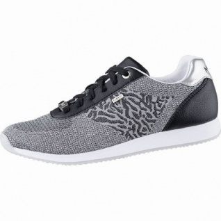 MEXX coole Damen Strick Sneakers black, herausnehmbares Fußbett, 1242175/36 - Vorschau 1