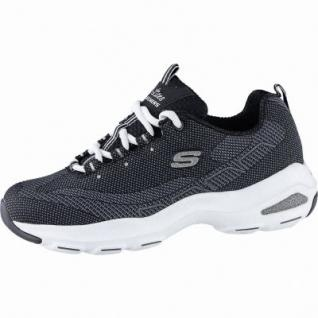 Skechers D Lite Ultra coole Damen Mesh Sneakers black, Skechers Air Cooled Memory Foam-Fußbett, 4240203