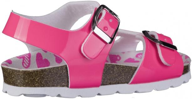 S.OLIVER Mädchen Lack Sandalen neon pink, biegsame Laufsohle - Vorschau 2