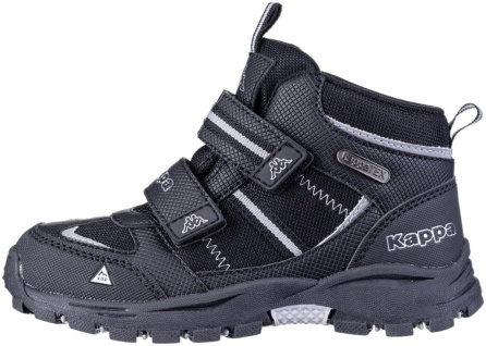 KAPPA Hovet Tex Jungen Winter Synthetik Boots black, Kappa Tex Waterproof Aus...