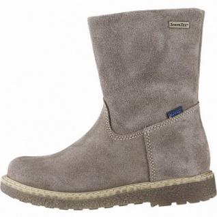 Richter Mädchen Winter Leder Tex Boots almond, mittlere Weite, Warmfutter, warmes Fußbett, 3741227/35