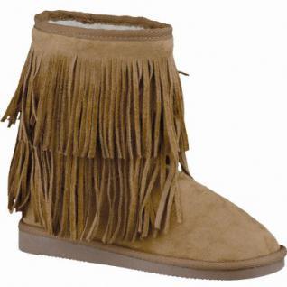 Canadians coole Mädchen Winter Synthetik Boots navy, 15 cm Schaft, molliges Warmfutter, warmes Fußbett, 3741190/33
