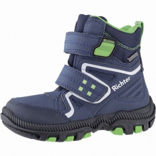 Richter Jungen Winter Tex Boots atlantic, mittlere Weite, molliges Warmfutter, warmes Fußbett, 3741235/32