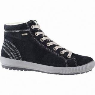 Legero softe Damen Leder Boots schwarz, 10 cm Schaft, Warmfutter, warmes Fußbett, Gore Tex, Comfort Weite G, 1741132/7.5