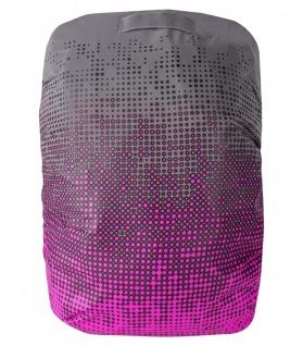 Safety Maker Rucksack Hülle hochreflektierend pink, wasserbeständig, 30 Liter...