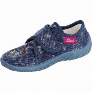 Beck Ritter Jungen Textil Hausschuhe jeans, weiches Fußbett, 3930104/33