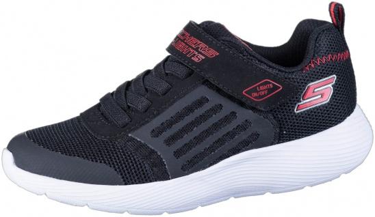SKECHERS Dyna-Lights Jungen Mesh Sneakers black, Meshfutter, Skechers Fußbett