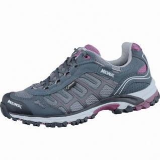 Meindl Cuba Lady GTX Damen Velour-Mesh Trekking Schuhe graphit, Air-Active-Fußbett, 4437127/7.0