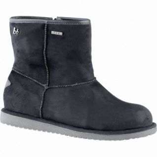 bruno banani coole Damen Synthetik Winter Boots schwarz, molliges Warmfutter, warme Super-Soft-Decksohle, 1639202/38