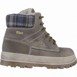 s.Oliver coole Jungen Leder Imitat Winter Tex Boots pepper, Warmfutter, Soft-Foam-Fußbett, 3739226 - Vorschau 2