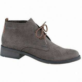 Marco Tozzi trendige Damen Synthetik Schnür Boots pepper, leichtes Warmfutter, weiche Decksohle, 1637182