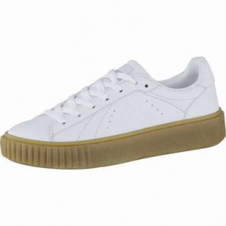Kappa Meseta PF RB coole Damen Synthetik Sneakers white, angesagte Plateau Laufsohle, 4240114/41