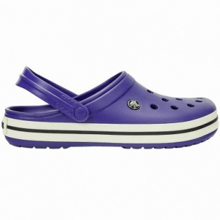 Crocs Crocband leichte Damen, Herren Crocs cerulean blue, Croslite Foam-Fußbett, Belüftungsöffnungen, 4340102/39-40