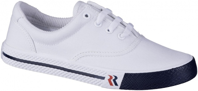 ROMIKA Soling Damen, Herren Canvas Sneakers weiss, waschbare Einlegesohle