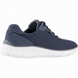 amazing selection first rate sports shoes Waldläufer Haris 12 Herren Leder Sneakers jeans, Extra Weite H,  herausnehmbares Fußbett, 2242103/7.5