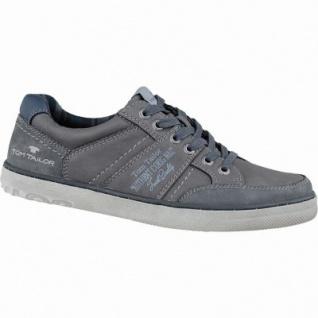 TOM TAILOR sportliche Herren Synthetik Sneakers coal, flexible Laufsohle, 2137130/41