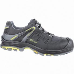 Grisport Mugello S3 Herren Mesh Sicherheits Schuhe schwarz, DIN EN 345/S3, 5530102/44