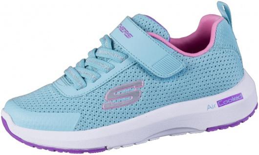 SKECHERS Dynamictread Mädchen Mesh Sneakers türkis, Meshfutter, Skechers Fußbett