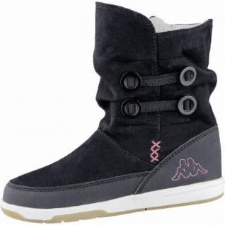 Kapppa Cream modische Mädchen Synthetik Winter Boots black, Warmfutter, 3739104