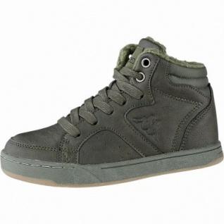 Kapppa Nanook coole Jungen Synthetik Winter Sneakers army, Warmfutter, herausnehmbares Fußbett, 3741128/36