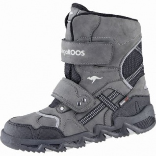 Kangaroos Spruce coole Jungen Synthetik Winter Tex Boots grey, Warmfutter, warmes Fußbett, 3739140
