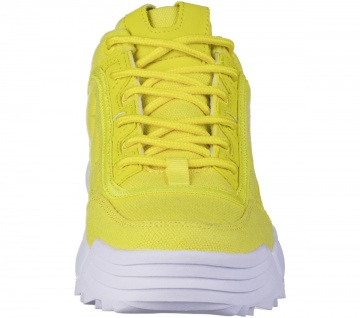 KAPPA Rave Sun coole Damen Canvas Sneaker yellow, herausnehmbare Decksohle - Vorschau 4