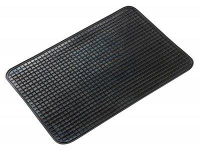 Universal TPR Auto Gummimatten schwarz 51x34 cm, Anti Slip, rutschhemmende Spikes, Auto Fußmatten, Schutzmatten