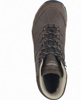Meindl Caracas Mid GTX Herren Leder Outdoor Schuhe braun, Air-Active-Fußbett - Vorschau 3