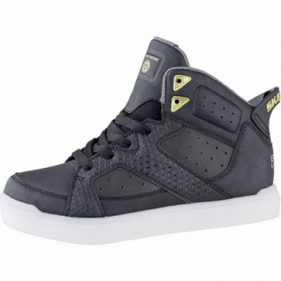 Skechers E-Pro Street Quest Jungen Synthetik Sneakers black, 5 cm Schaft, Meshfutter, Einlegesohle, LED Farbwechsel, 3341109/39.
