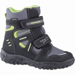 Superfit Jungen Winter Synthetik Tex Boots schwarz, 10 cm Schaft, Warmfutter, warmes Fußbett, 3741139/27