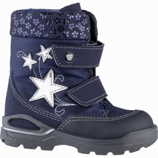 Pepino Finja Mädchen Synthetik Winter Tex Boots nautic, molliges Lammwollfutter, warmes Fußbett, mittlere Weite, 3241144/21