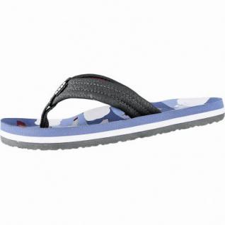 Reef Ahi coole Jungen Synthetik Pantoletten blue planes, weiches Fußbett, 3540105