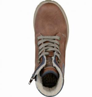 Mustang coole Jungen Leder-Imitat Winter Boots kastanie, molliges Warmfutter, warme Decksohle, 3737120/33 - Vorschau 2