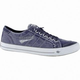Dockers coole Herren Canvas Sneakers navy, Dockers Laufsohle, weiches Fußbett, 2140165