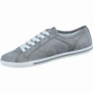 Dockers sportliche Damen Synthetik Sneaker taupe, gepolstertes Dockers-Fußbett, 1236160/36