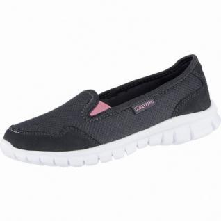 Kappa Gomera modische Damen Mesh Synthetik Slippers black, weiches Kappa Fußbett, 4240112