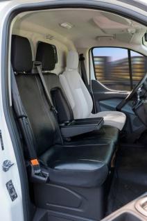 Passform Transporter Sitzbezüge Ford Transit, passgenauer Sitzbezug Doppelbank, Kunstleder, ab Bj. 05/2014