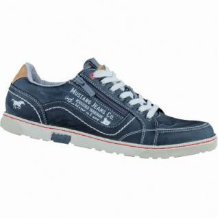 Mustang modische Herren Synthetik Sneakers stein, gepolsterte Decksohle, 2136116/41