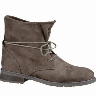 Jane Klain trendige Damen Synthetik Boots stone, Kaltfutter, warme Super-Soft-Decksohle, 1637264