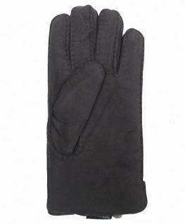 Damen Fingerhandschuhe Lammfell grau, Fellhandschuhe grau, Größe 8 - Vorschau 2