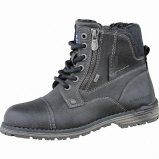 TOM TAILOR coole Jungen Synthetik Winter Tex Boots coal, molliges Warmfutter, 3737127