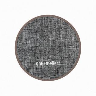 warmer Baby Winter Lammfell Fußsack grau meliert waschbar, für Kinderwagen, Buggy, ca. 86x47 cm, 5-Punkt-Gurtschlitze - Vorschau 2