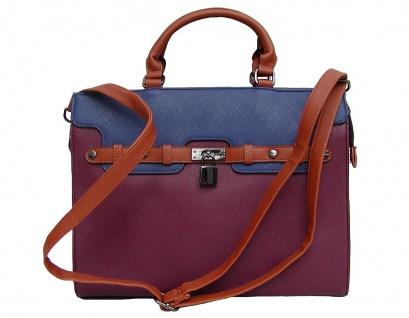 Angel kiss AK5994 multicolor modische Tasche Kelly Bag Style, Shopper, 1 Haup...