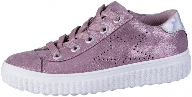 LURCHI Nelia Mädchen Leder Sneakers rose, mittlere Weite, Lurchi Leder Fußbett
