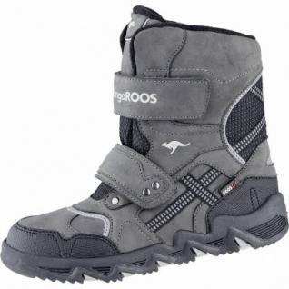Kangaroos Spruce coole Jungen Synthetik Winter Tex Boots grey, Warmfutter, warmes Fußbett, 3739140