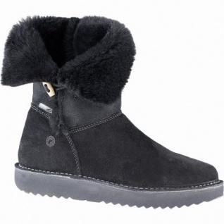 Ricosta Uma Mädchen Winter Leder Tex Stiefel schwarz, mittlere Weite, 17 cm Schaft, Warmfutter, warmes Fußbett, 3741260/39