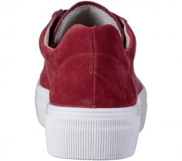 LEGERO Damen Leder Sneakers marte, Comfort Weite G, Leder Fußbett - Vorschau 4