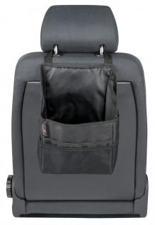 wasserdichter PVC Auto KFZ Taschen Organizer schwarz 34x22 cm, viele Fächer, ...